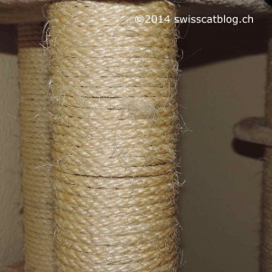 used scratching post