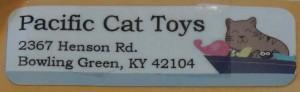 etiquette pacific cat toys