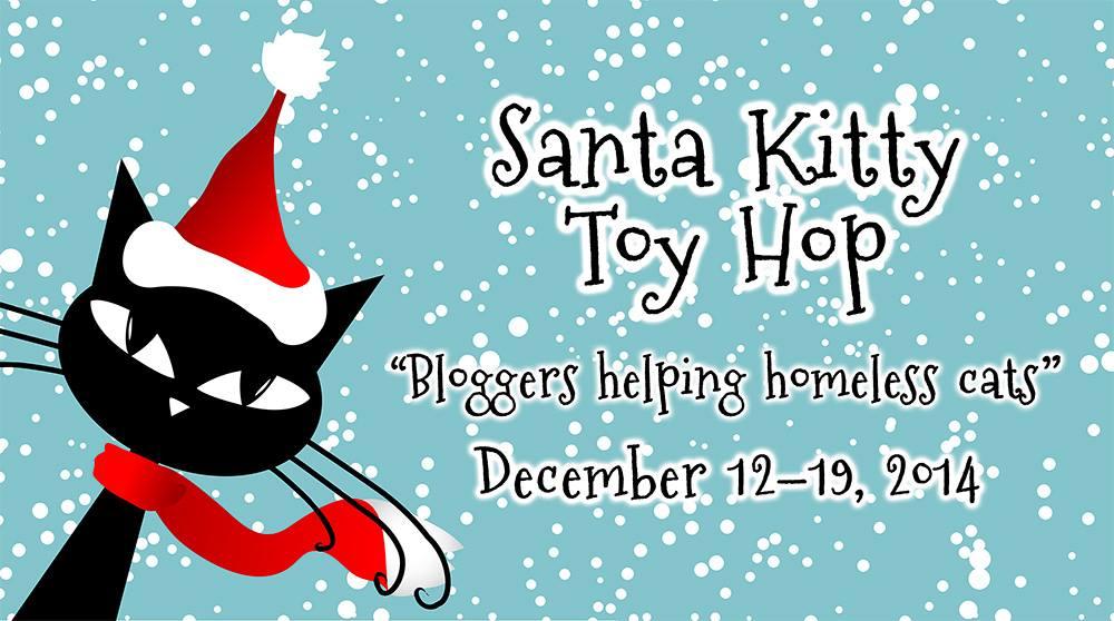 santa kitty blog hop