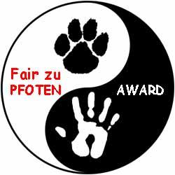 Fair zu Pfoten Award