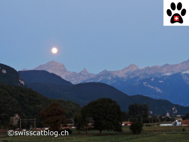 full moon Switzerland