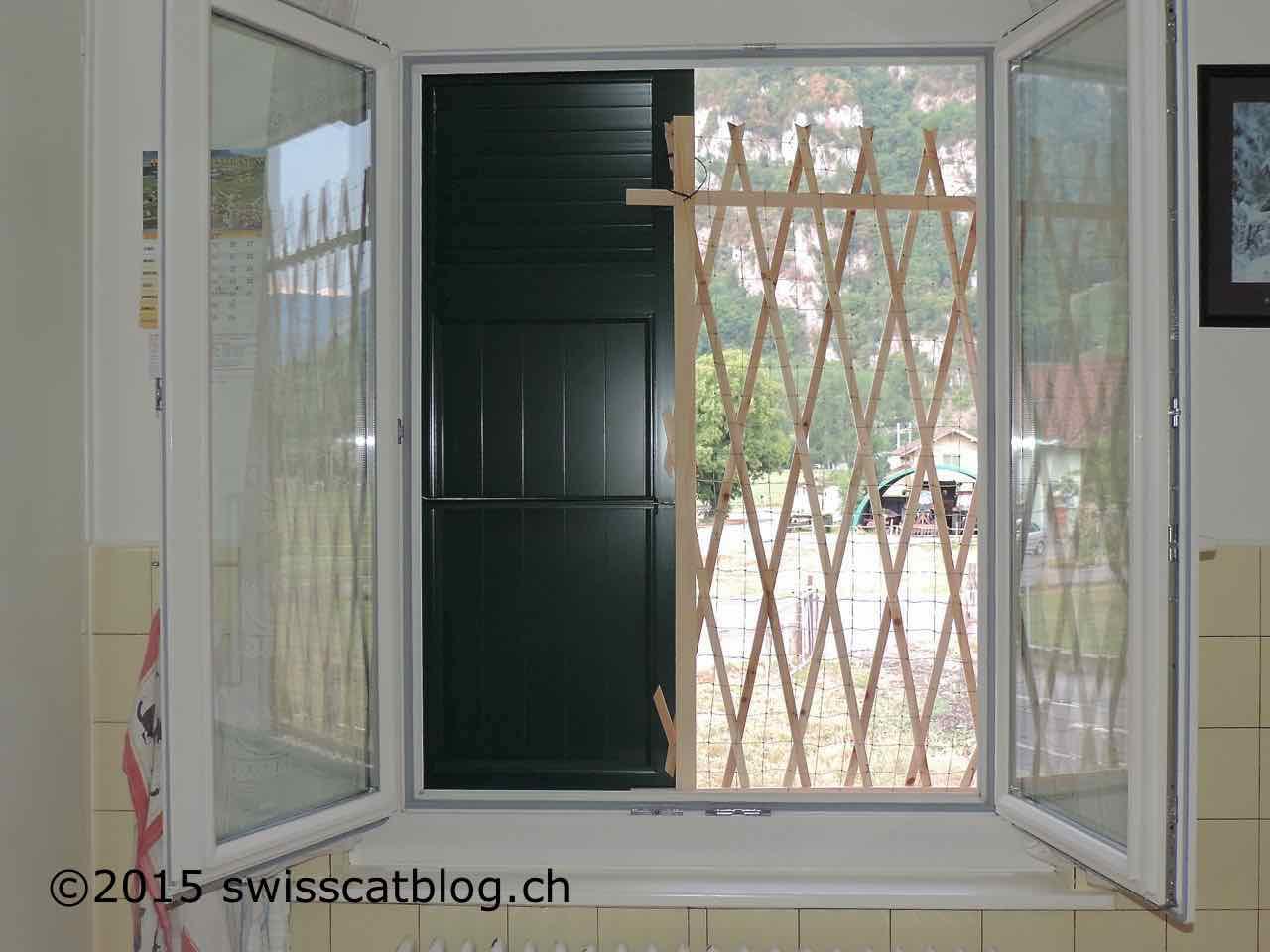 Fenêtre Sécurisée Diy The Swiss Cats